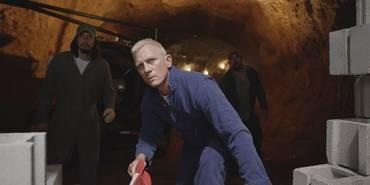 Adam Driver og Daniel Craig i Logan Lucky
