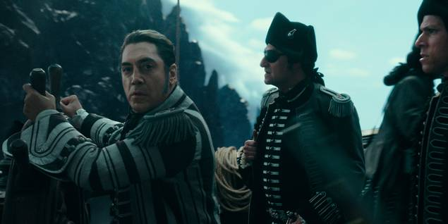 Javier Bardem i Pirates of the Caribbean: Salazar's Revenge
