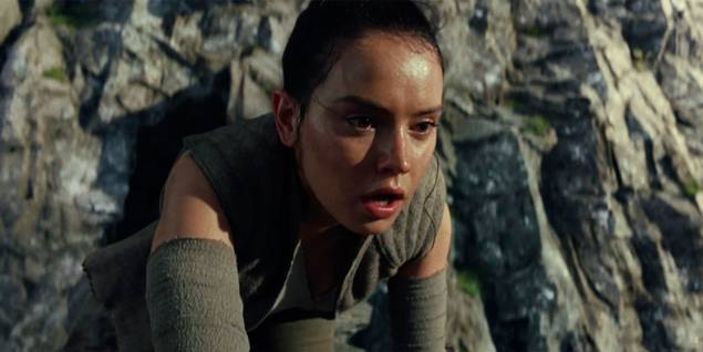 Daisy Ridley i Star Wars VIII: The Last Jedi