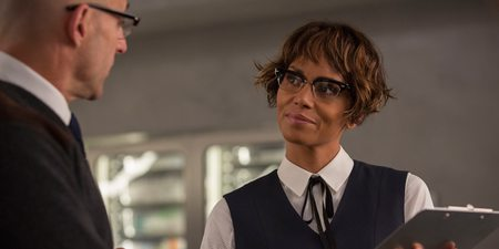 Mark Strong og Halle Berry i Kingsman: The Golden Circle