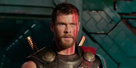 Chris Hemsworth i Thor: Ragnarok