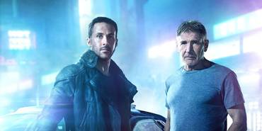 Ryan Gosling og Harrison Ford i Blade Runner 2049