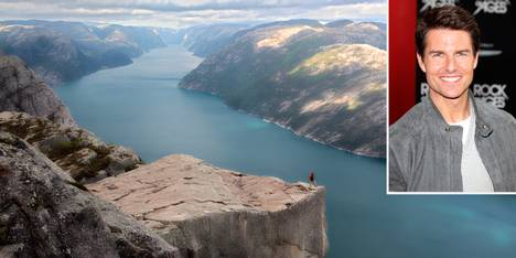Preikestolen vs Tom Cruise