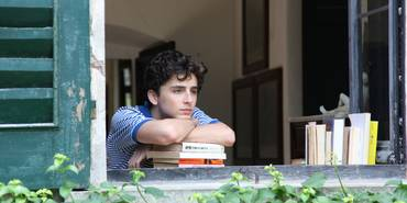 Timothée Chalamet i Call Me by Your Name