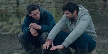 Josh O'Connor og Alec Secareanu i God's Own Country