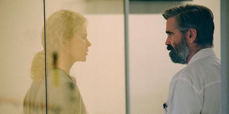Nicole Kidman og Colin Farrell i The Killing of a Sacred Deer