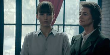 Jennifer Lawrence og Charlotte Rampling i Red Sparrow