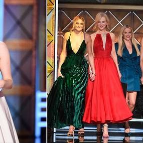 Elisabeth Moss og Big Little Lies-gjengen på Emmy-utdelingen 2017