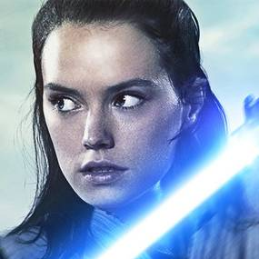 Daisy Ridley i Star Wars: The Last Jedi