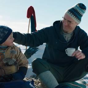 Filip Mathias Eide og Anders Borchgrevink i Ekspedisjon Knerten