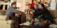 Will Ferrell, Mel Gibson og Mark Wahlberg i Daddy's Home 2