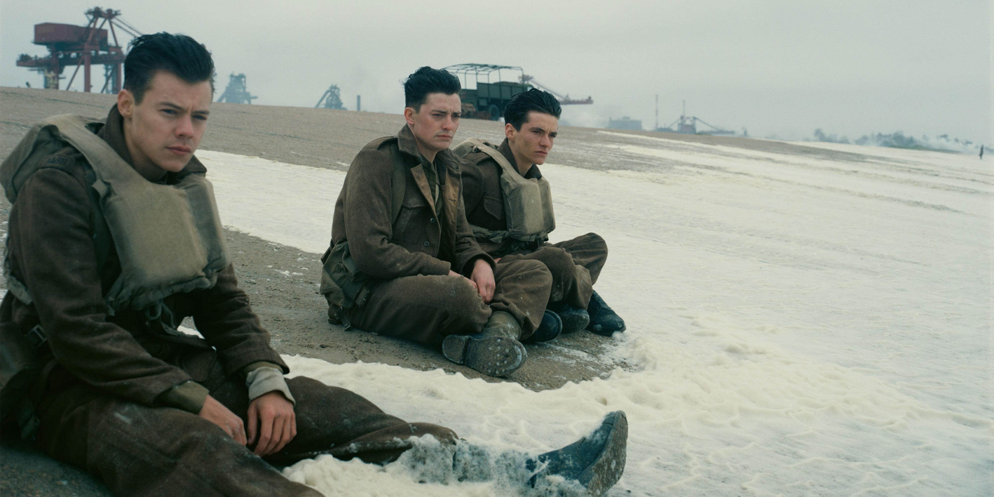 "Harry Styles i ""Dunkirk""."