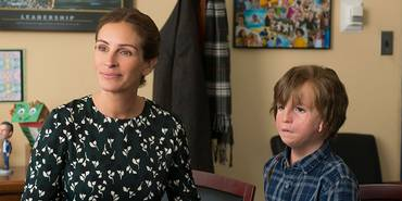 Julia Roberts og Jacob Tremblay i Mirakel