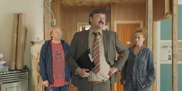 Anders Baasmo Christiansen, Atle Antonsen og Ine Jansen i Norske byggeklosser