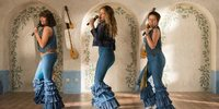 Jessica Keenan, Lily James og Alexa Davies i Mamma Mia: Here We Go Again