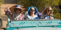 Christine Baranski, Julie Walters og Amanda Seyfried i Mamma Mia: Here We Go Again