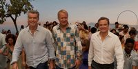 Pierce Brosnan, Stellan Skarsgård og Colin Firth i Mamma Mia! Here We Go Again