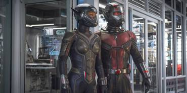 Evangeline Lilly og Paul Rudd i Ant-Man and the Wasp
