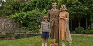 Will Tiston, Domhnall Gleeson, Margot Robbie i Goodbye Christopher Robin