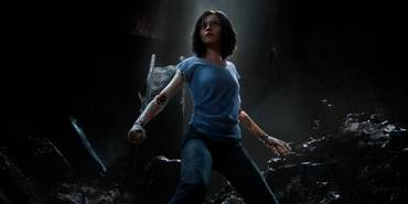 Rosa Salazar i Alita: Battle Angel