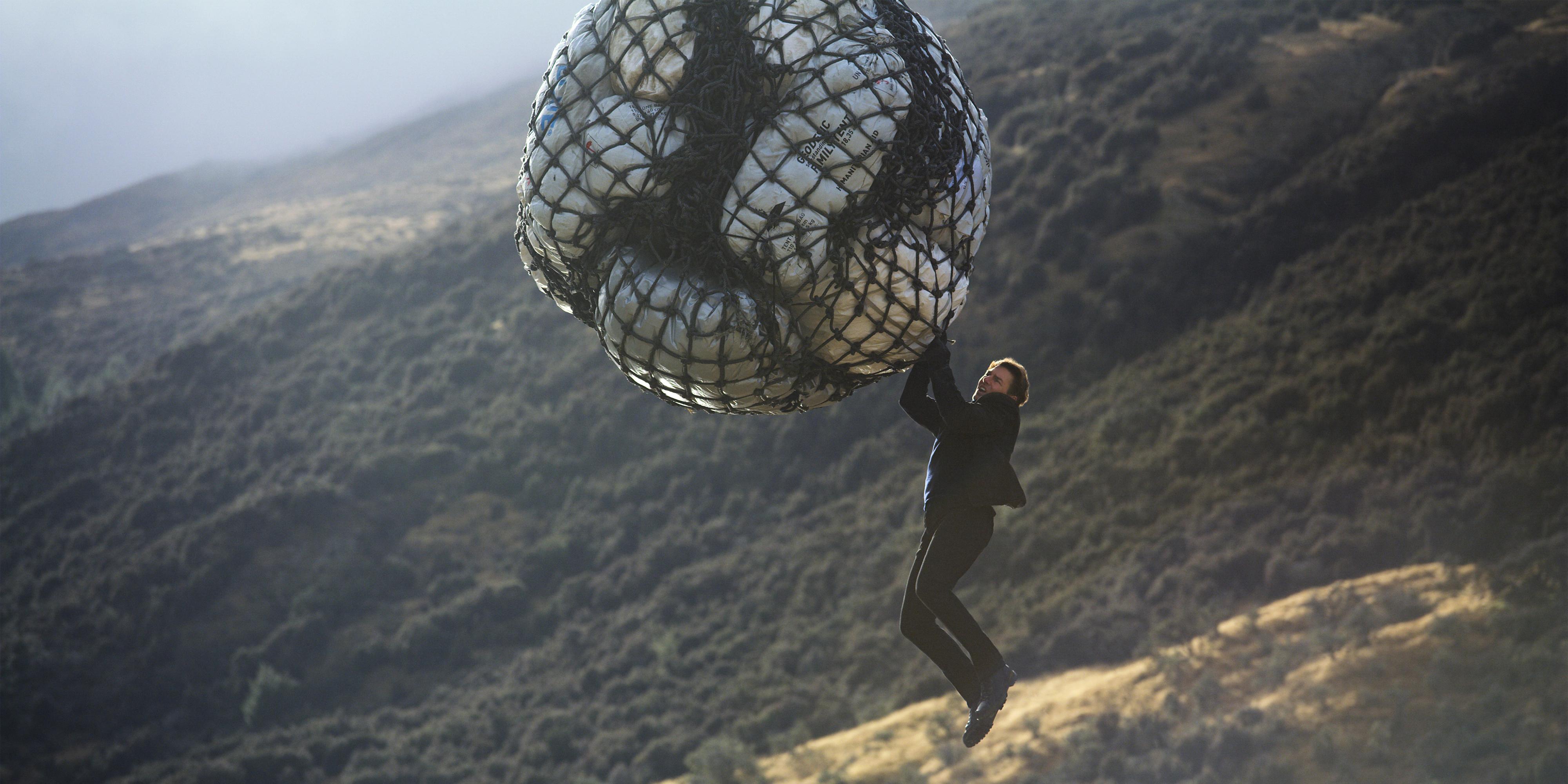 "KLAR FOR NYE STUNTS: Tom Cruise i ""Mission: Impossible - Fallout"""