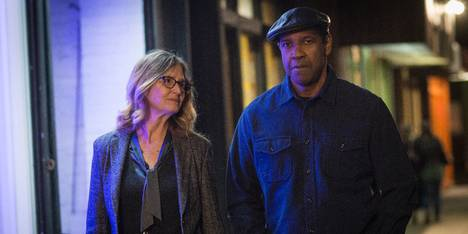 Denzel Washington og Melissa Leo i The Equalizer 2