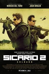 Sicario 2: Soldado plakat