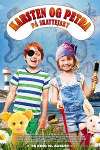 Karsten og Petra på skattejakt plakat