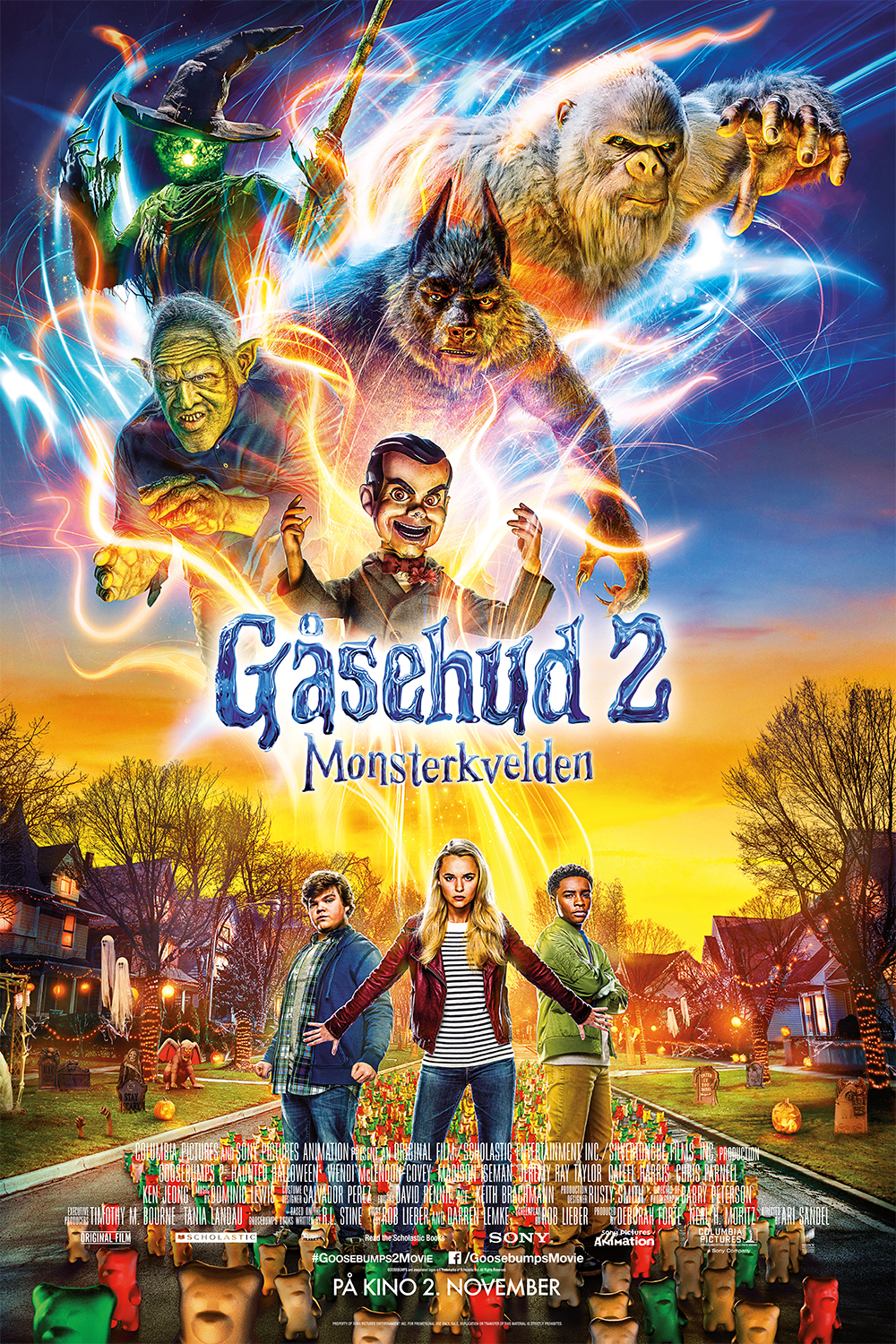 Gåsehud 2: Monsterkvelden