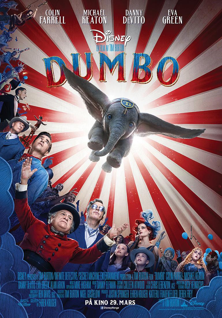 Dumbo 2D Norsk tale Utekstet