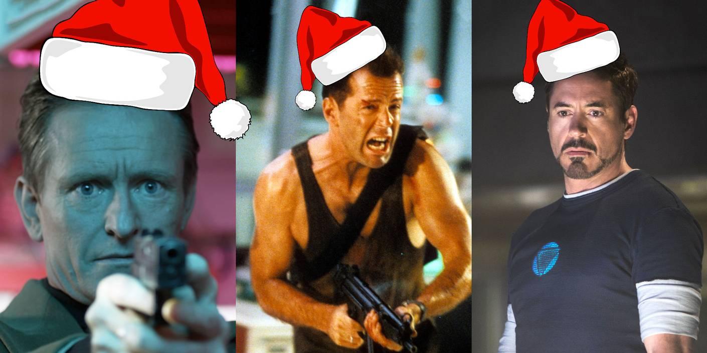10 hardbarka actionfilmer (som egentlig er julefilmer)