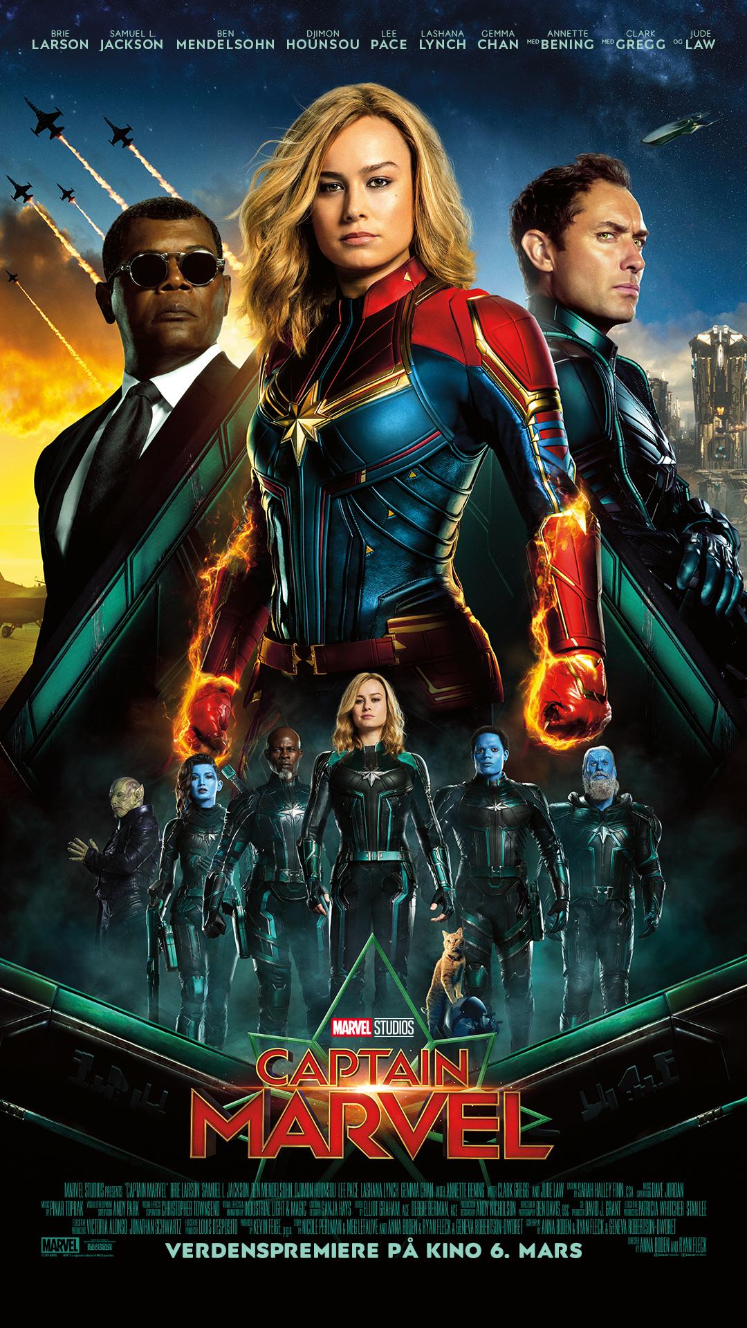Captain Marvel 2D Original tale