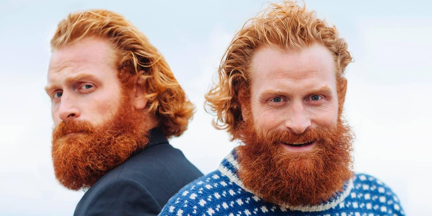 Kristofer Hivju skal spille tvillinger på NRK i høst