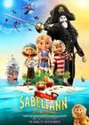 Plakat: Kaptein Sabeltann og Den Magiske Diamant