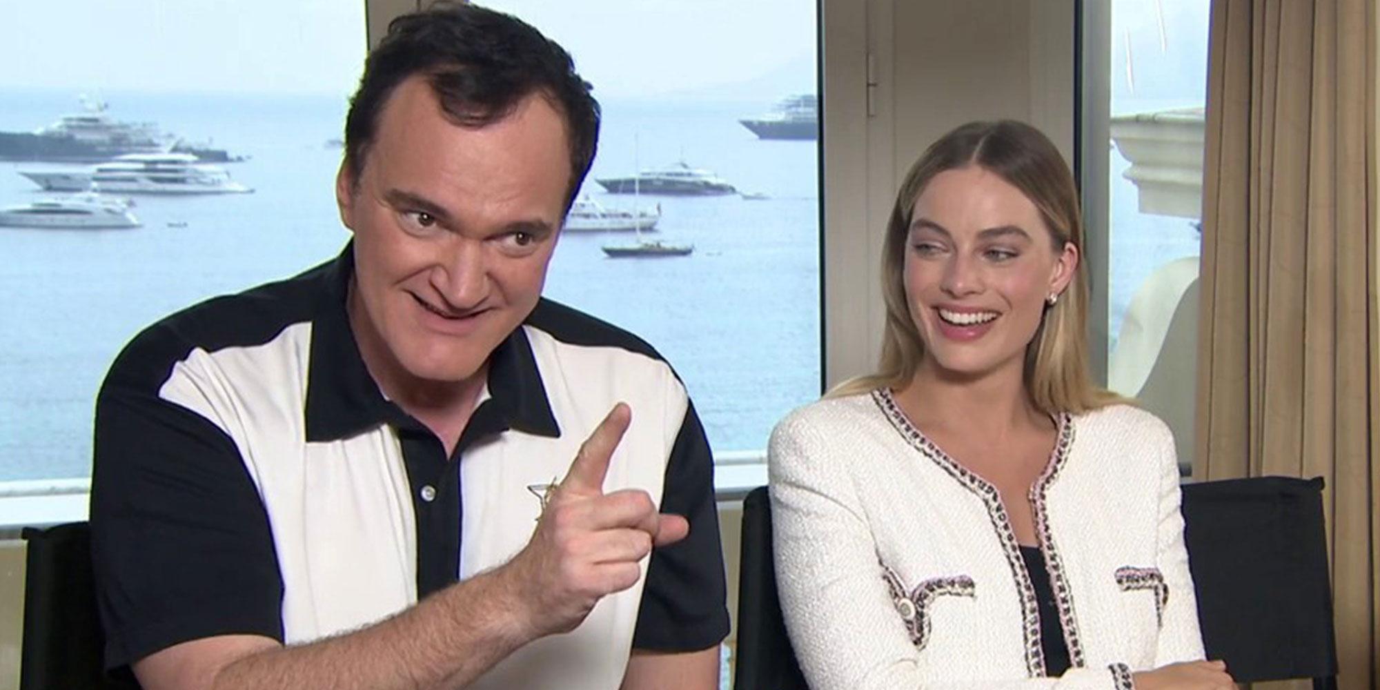 Regissør Quentin Tarantino.