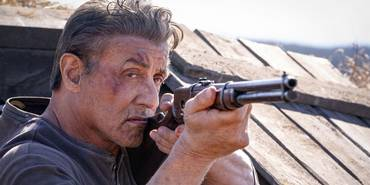 Sylvester Stallone i Rambo: Last Blood