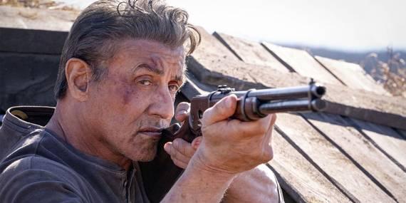 Sylvester Stallone i Rambo: Last Blood