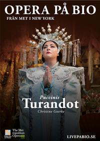 Turandot - plakat