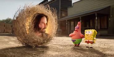 Keanu Reeves i Svampebob: Svamp på rømmen