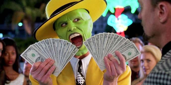 Jim Carrey i The Mask