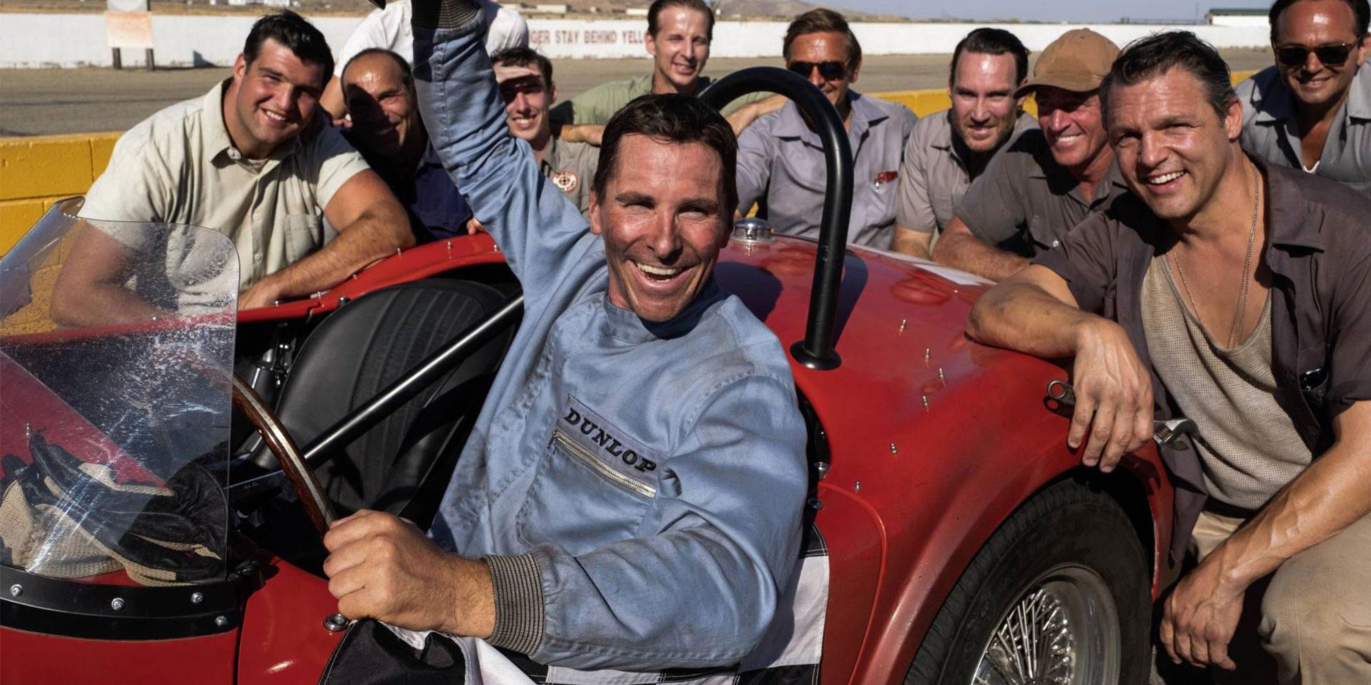 Christian Bale i Ford v Ferrari