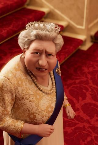 Dronningens corgi