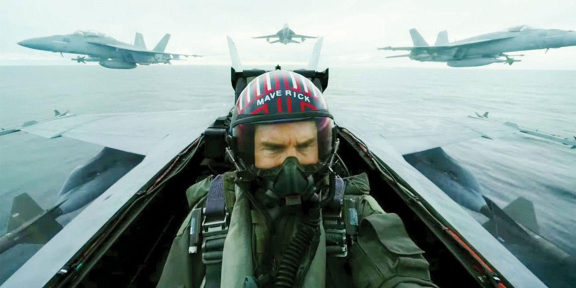 Tom Cruise i Top Gun: Maverick