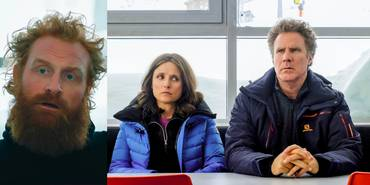 Kristofer Hivju, Julia Louis-Dreyfus og Will Ferrell i Downhill
