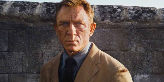 Daniel Craig i James Bond: No Time to Die