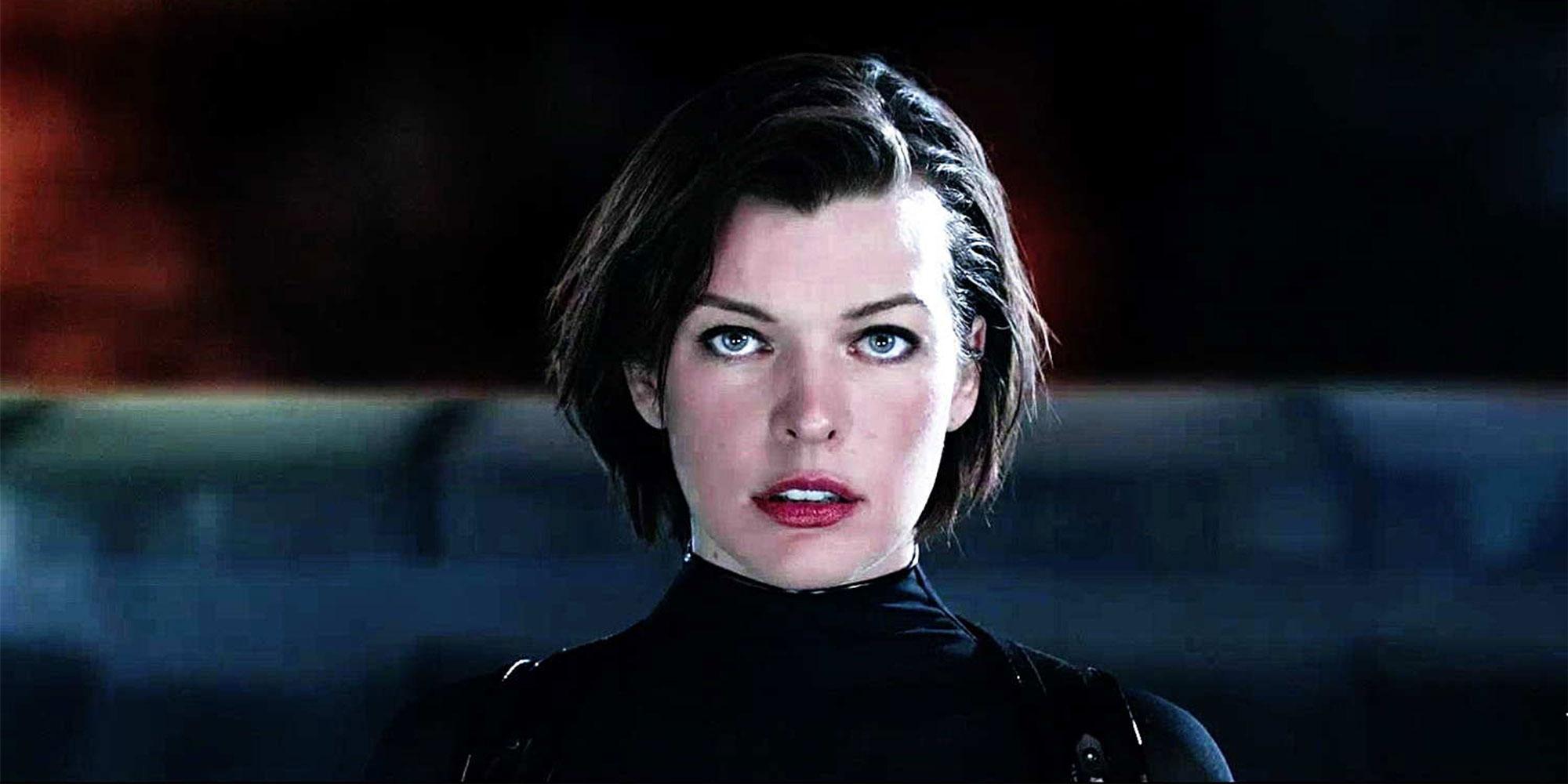 "Milla Jovovich i ""Resident Evil""."