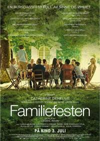 Familiefesten – plakat