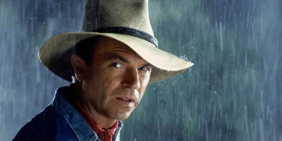 Sam Neill i Jurassic Park