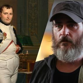 Napoléon Bonaparte og Joaquin Phoenix