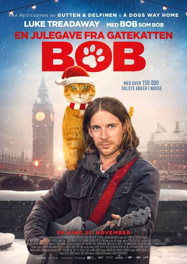 En Julegave fra gatekatten Bob movie poster image